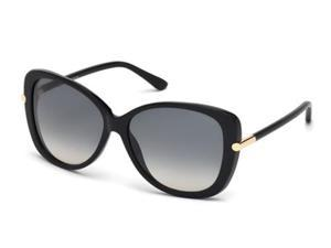 TOM FORD Sunglasses FT0322 32F Black 59MM
