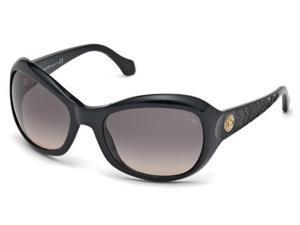 ROBERTO CAVALLI Sunglasses RC794S 01B Black 62MM