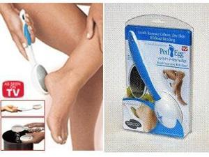 Ped Egg Reach Professional Foot File with Handle