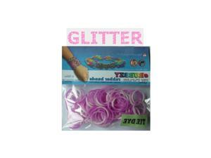 Rubbzy 100 pc Special Edition Tie Dye/Glitter Rubber Bands (#159)