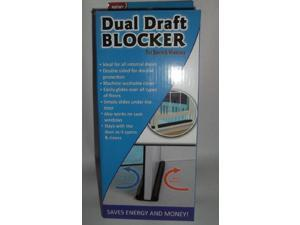 Dual Draft Blocker for Doors and Windows