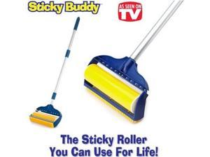 Sticky Buddy Reusable Lint Brush with Large Handle