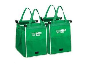 Set of 2 Original Authentic Grabbag Grab Bag Reusable Grocery Bag