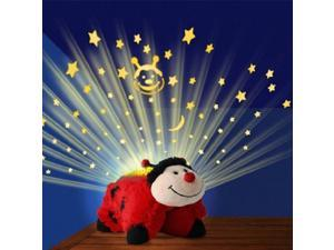 Pillow Pets Dream Lights Red Lady with Bonus Speaker and Adaptor