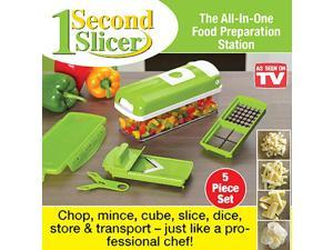 1 Second Slicer with Bonus V Slicer