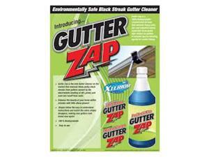 Gutter Zap Environmentally Safe Black Streak Gutter Cleaner, Residential