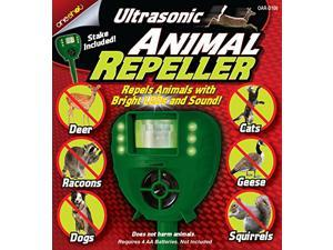 Keep animals away with Ultrasonic Animal Repeller. Automatically repel animals with bright