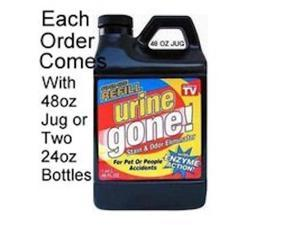 Urine Gone Refill 48 oz (One jug of 48 oz or 2 bottles of 24 oz)