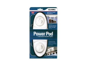 Bell & Howell Power Pod with Dual Swivel Socket Lights