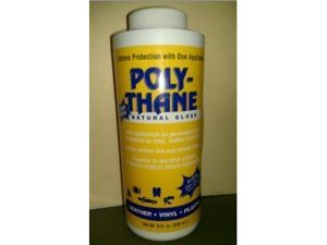 Poly-Thane (Poly Thane) Clear Finish Natural Gloss Protectant