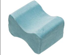 Contour Memory Foam Leg Pillow with Cover, Blue