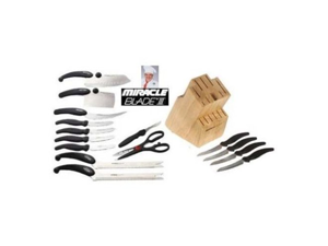 Miracle Blade III Block Set - 16 Piece Knife and Block Set
