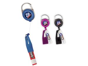 Zip Stick Retractable Lip Balm Holder (Single- Assorted Colors)