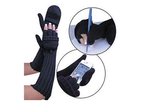 Extra Long Convertible Mittens by Miles Kimball
