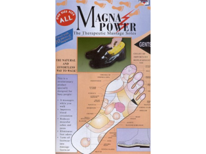 Magna Power Magnetic Insoles- The Therapeutic Massage Soles- Men