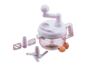Miracle Chopper Salsa Maker w/ Built in Egg White Separator