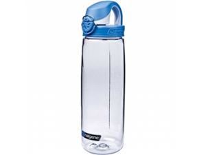 Nalgene Tritan On the Fly 24 oz. Water Bottle - Clear/Red