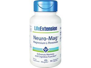 Life Extension Neuro-Mag Magnesium L-Threonate 90  Vegetarian Capsules