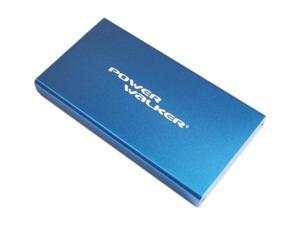Power Walker A5500 Portable Rechargeable Battery 5500mAh, 5V/1.5A High Output, LED Torch Function (Sapphire Blue)