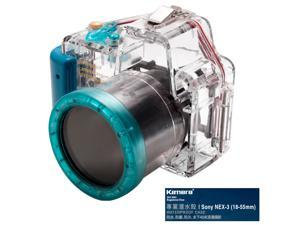 Kamera Underwater Diving Camera Waterproof Case Housing Shell For Sony NEX-3 (18-55mm)