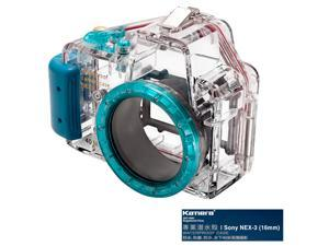 Kamera Underwater Diving Camera Waterproof Case Housing Shell For Sony NEX-3 (16mm)