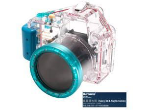 Kamera Underwater Diving Camera Waterproof Case Housing Shell For Sony NEX-5N (18-55mm)