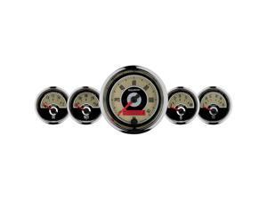 Auto Meter 1101 Cruiser 5 Gauge Set Fuel/Oil/Speedo/Volt/Water
