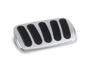 Lokar BAG-6184 Billet Aluminum Curved Power Brake Pedal Pad Fits 76-77 Bronco
