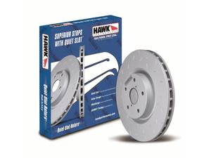 Hawk Performance HUS8141 Quiet Slot Rotor