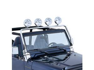Rugged Ridge 11138.01 Full Frame Light Bar, Stainless Steel, 97-06 Jeep Wrangler