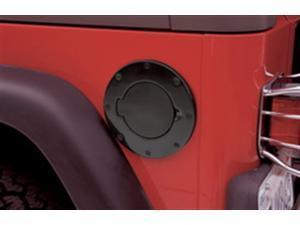 Smittybilt 75006 Billet Style Gas Cover 97-06 TJ Wrangler (LJ) Wrangler (TJ)