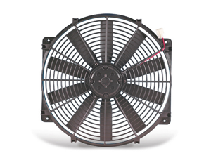 Flex-a-lite 112 Trimline Straight Blade&#59; Electric Fan