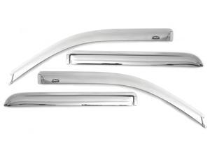 Auto Ventshade 684072 Chrome Ventvisor Deflector 4 pc. Fits 09-16 Journey