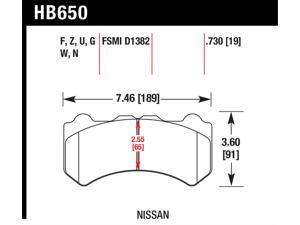 Hawk Performance HB650F.730 Disc Brake Pad