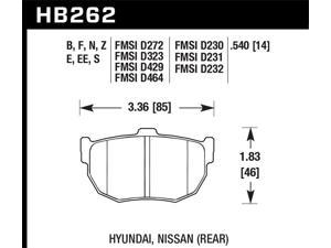 Hawk Performance HB262F.540 Disc Brake Pad