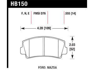Hawk Performance HB150E.555 Disc Brake Pad
