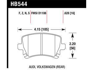 Hawk Performance HB544R.628 Disc Brake Pad