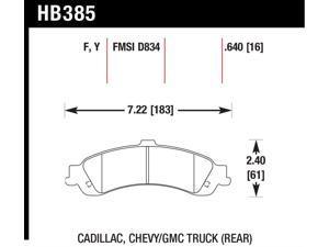 Hawk Performance HB385F.640 Disc Brake Pad