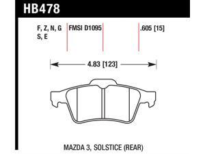 Hawk Performance HB478B.605 Disc Brake Pad