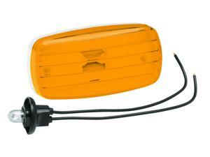 Bargman 34-58-002 Clearance Light No. 58 Amber With White Base, 8 x 4 x 1.50 in.