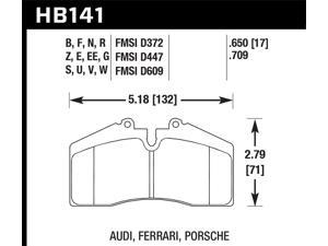 Hawk Performance HB141S.650 Disc Brake Pad