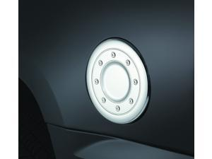 Auto Ventshade Chrome Fuel Door Cover