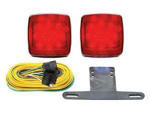 Optronics Mcl-91Rk Red Led Marker/Clearance Light Red