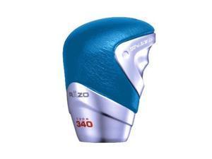 Razo Ra96Bla Gt Advance Blue Leather Short Shift Knob - Pack Of 1
