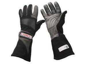 G-Force 4105Lrgbk Pro Series Black Large Racing Gloves