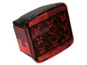 Peterson Manufacturing V840L Peterson V840L Stop/Tail Light, Led W/ License Ligh