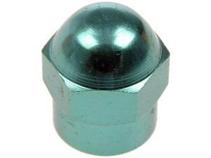 Dorman 609-157 Tpms Green Anodized Aluminum Valve Stem Cap, Pack Of 50