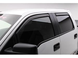 EGR 573495 SlimLine&#59; In-Channel WindowVisors&#59; Set of 4 Fits 15 F-150