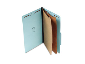 Classification Folder 2 Dividers 6 Fasteners Lgl 15/BX BE