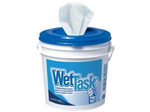 WET TASK WIPER 12X12.5 60/ROLL WHT